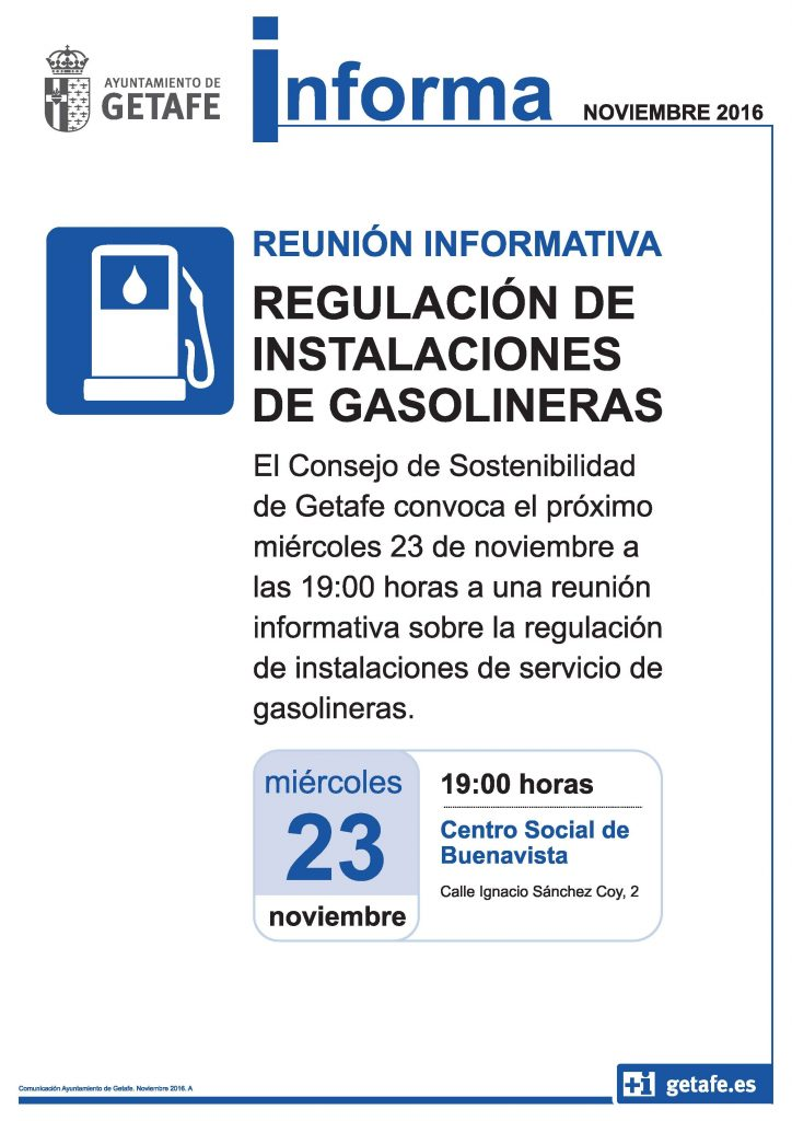reunion informativa regulación gasolineras