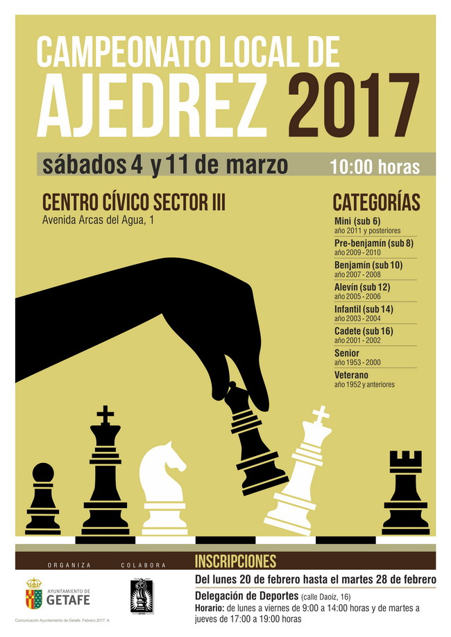 campeonato local ajedrez