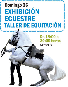EXHIBICIÓN EQUESTRE DOMINGO 26