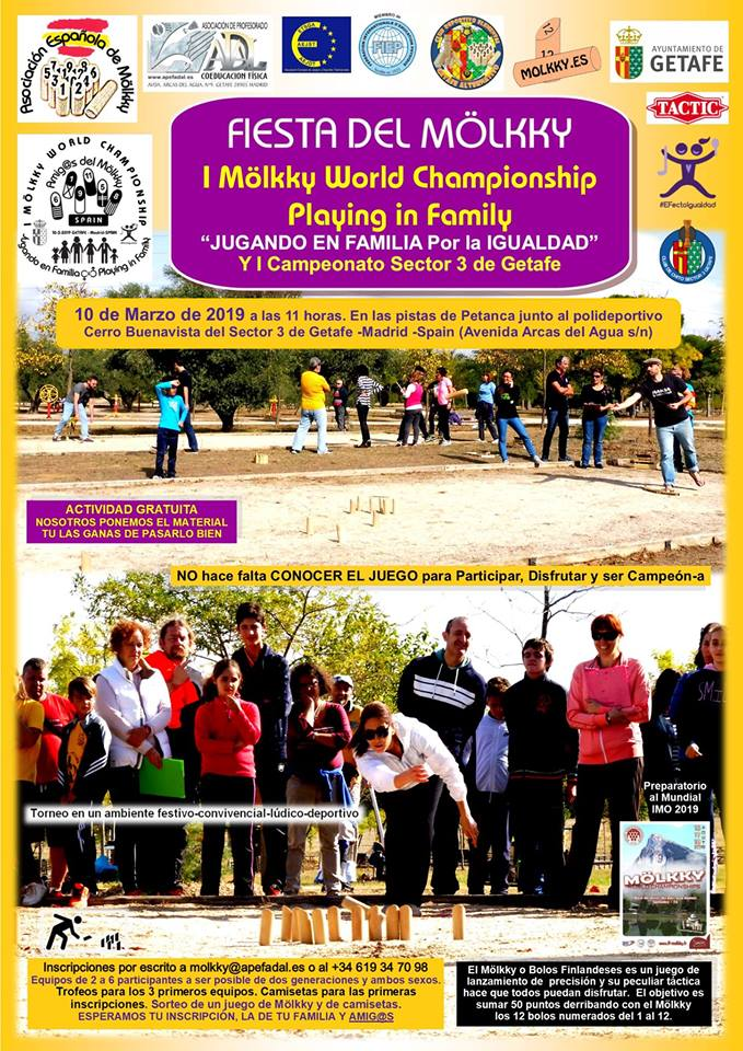 "I Mölkky World Championship ""Playing in Family"""