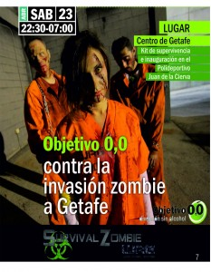 ZOMBIES 23 ABRIL