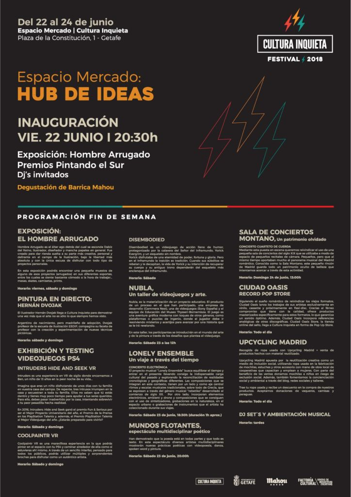 Hub de Ideas Cultura Inquieta